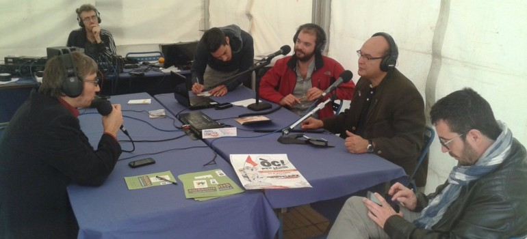 Interview au Plateau radio de l'Antigone des Associations