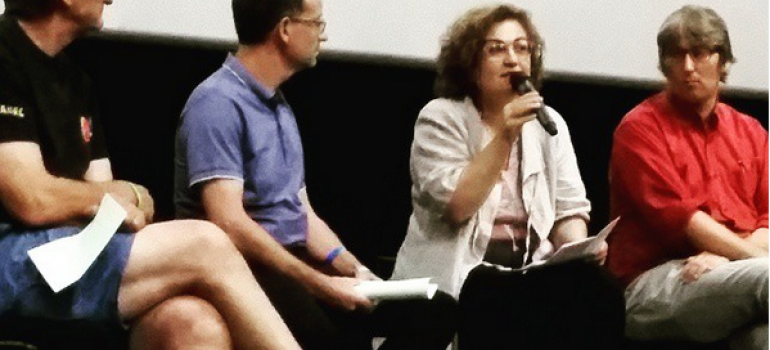 Conférence à l'Estivada de Rodez – intervention du Directeur du Théâtre La Vista