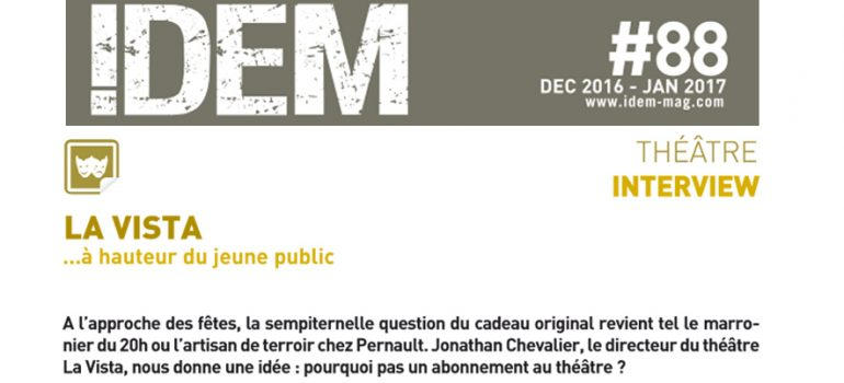Interview – Magazine Idem – jan 16 / fev 17