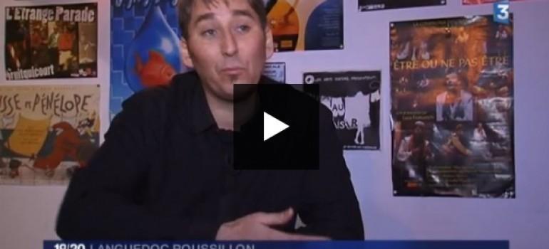 France 3 – JT 19/20 – Reportage sur la Vista