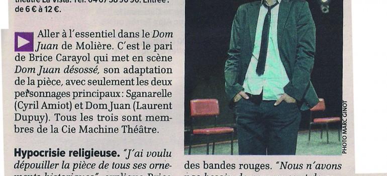 Interviews – Dom Juan désossé de Machine Théâtre