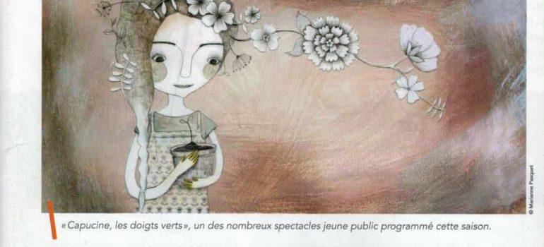 «Génération Théâtre» – MMMag Métropole – Nov