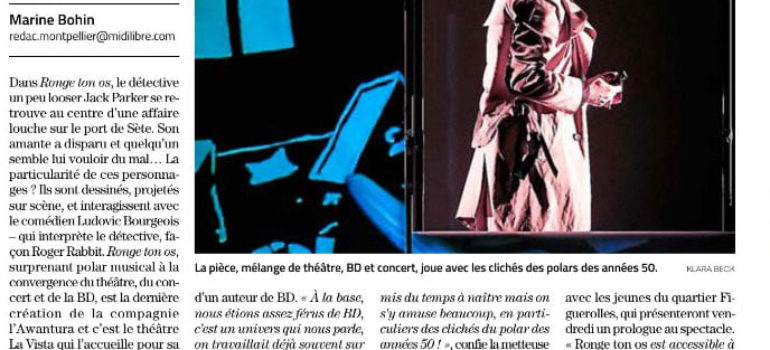 Midi Libre – 04.12.19 – Ronge ton os et stage ados